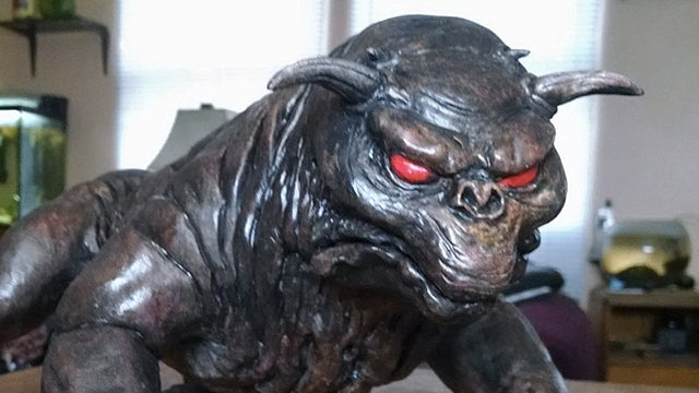 Skip the Gnomes and Put Ghostbusters' Keymaster Dog In Your Garden
