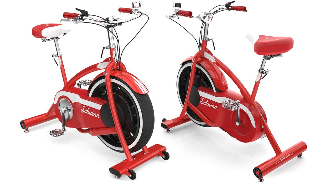 I'd Actually Consider Going To A Spin Class If I Could Ride Schwinn's Retro-Styled Exercise Bikes