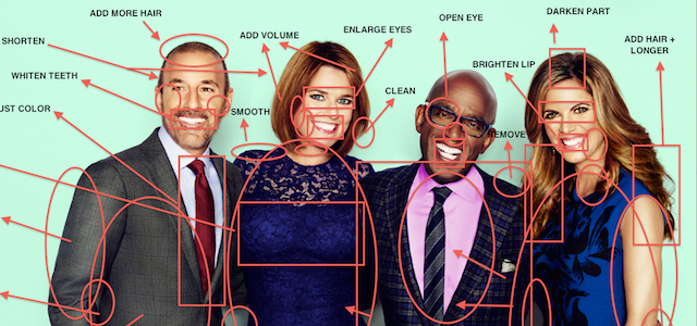 Here are the flaws photographers see when they take a picture of you