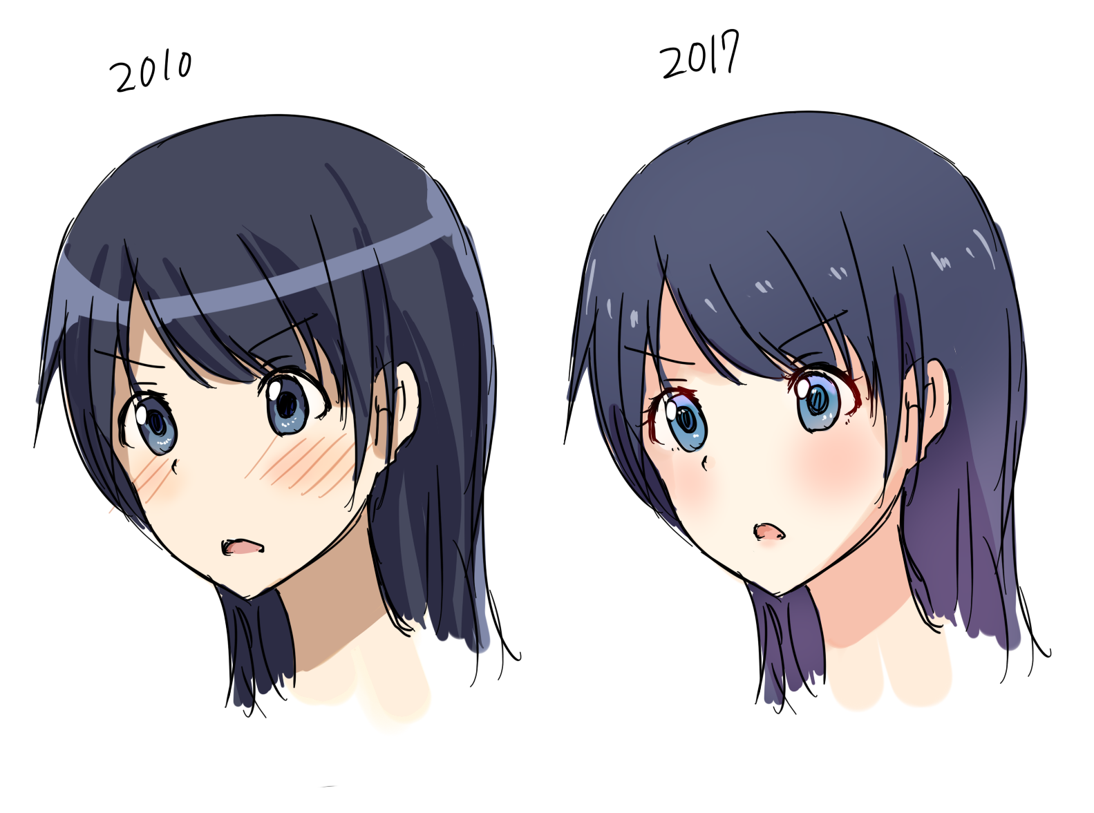 How anime art has changed since 2010