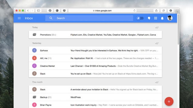 Access Google Inbox from Any Browser with a User Agent Switch