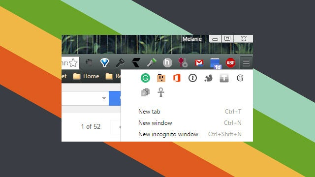 Chrome Now Shows All Your Extensions By Default, Puts Hidden Ones In The Menu
