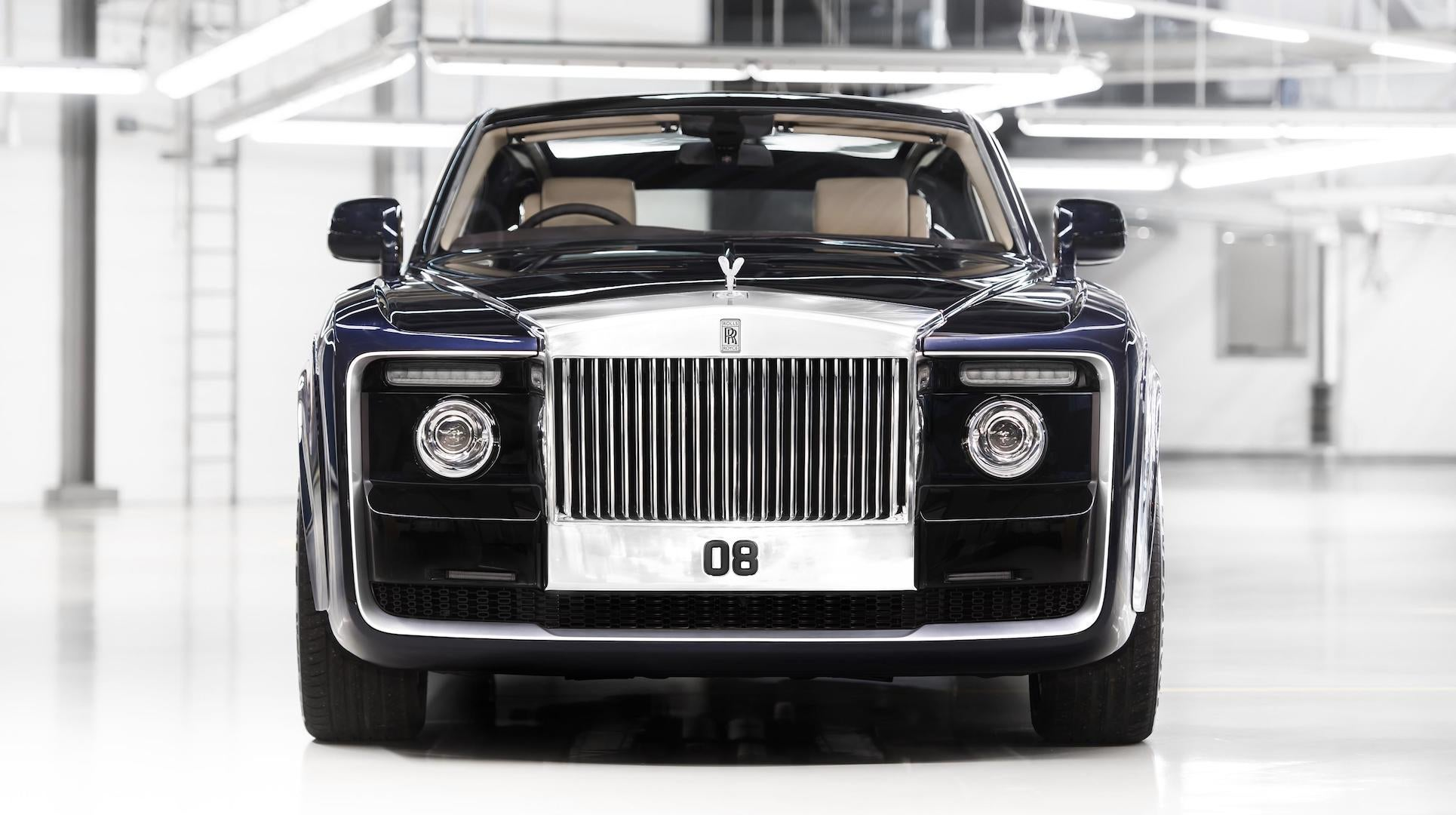 This Oddball Rolls Royce Could Be The Most Expensive New Car Ever