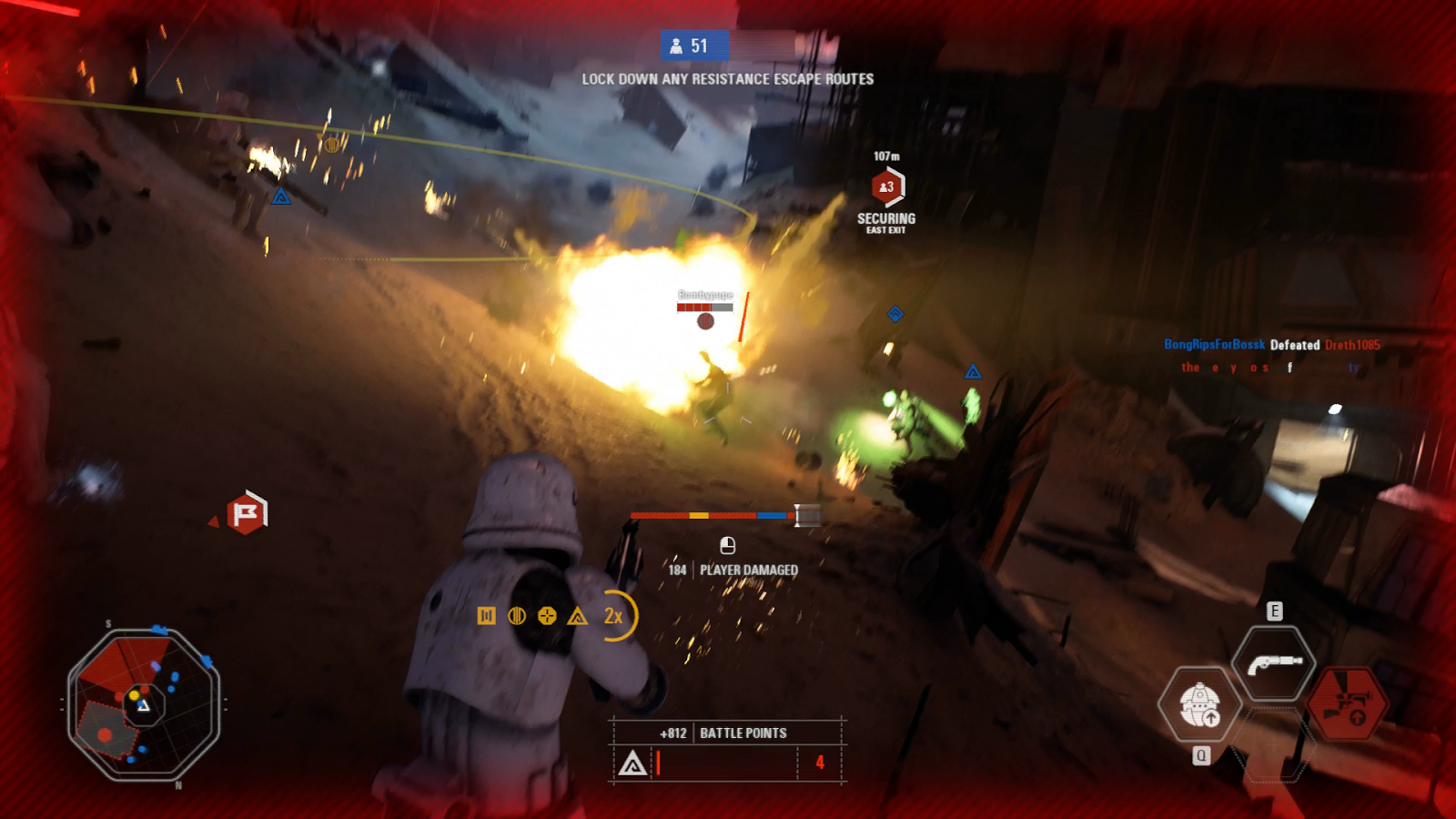 7 minutes of star wars battlefront gameplay