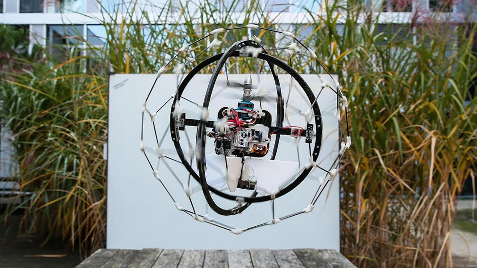 This Spherical Rescue Drone Is Straight Out Of Star Wars