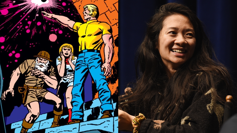Reports: Marvel's EternalsMovie Is Moving Forward With Director Chloe Zhao