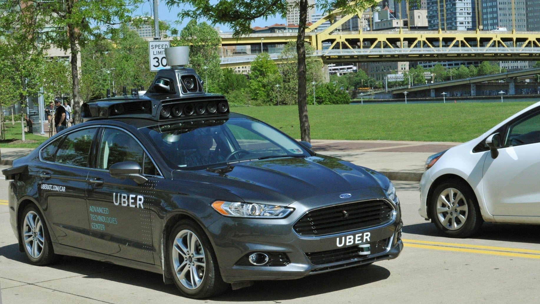 This Is Our First Good Look At Uber's Self-Driving Car