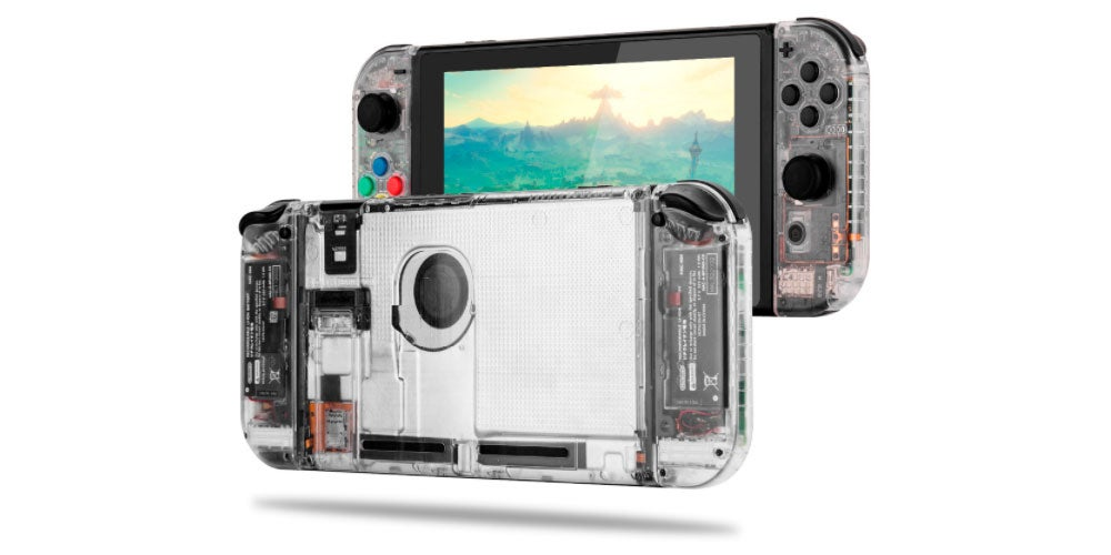 Clear Cases For The Nintendo Switch Look Very Nice