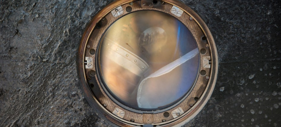 Peer Through the Window of a Soyuz Capsule Just Returned to Earth