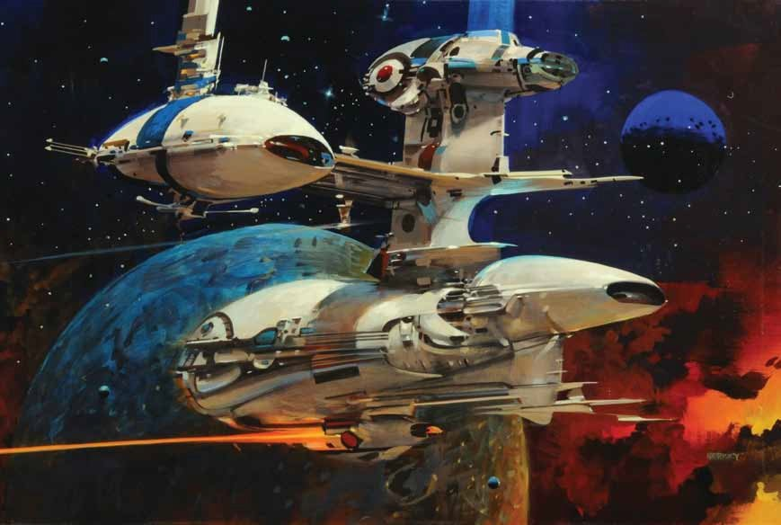 A Brief History of Space Travel as Told by the Art That Inspired It