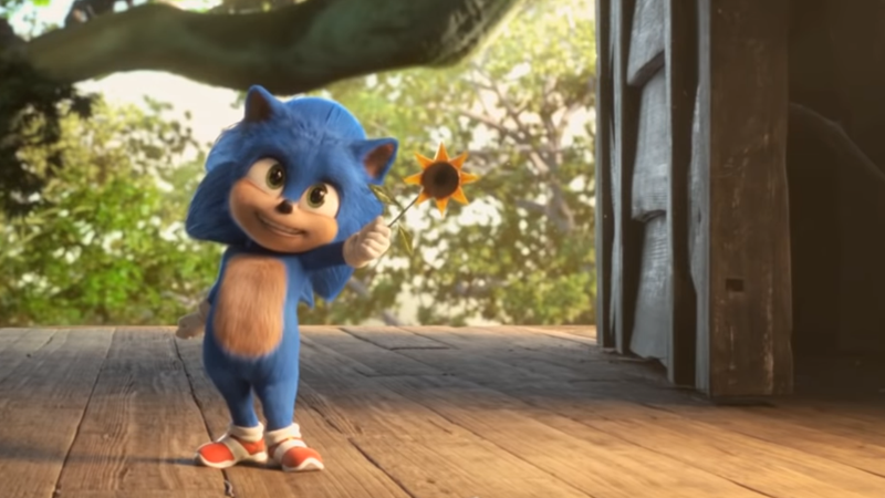 The Sonic The Hedgehog Movie Wants In On That Baby Yoda Hype