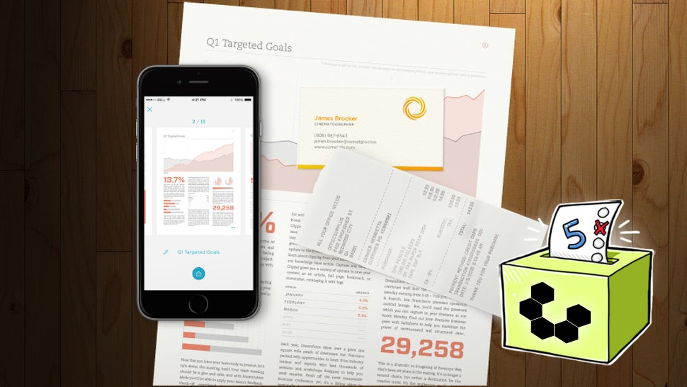 Five Best Mobile Document Scanning Apps