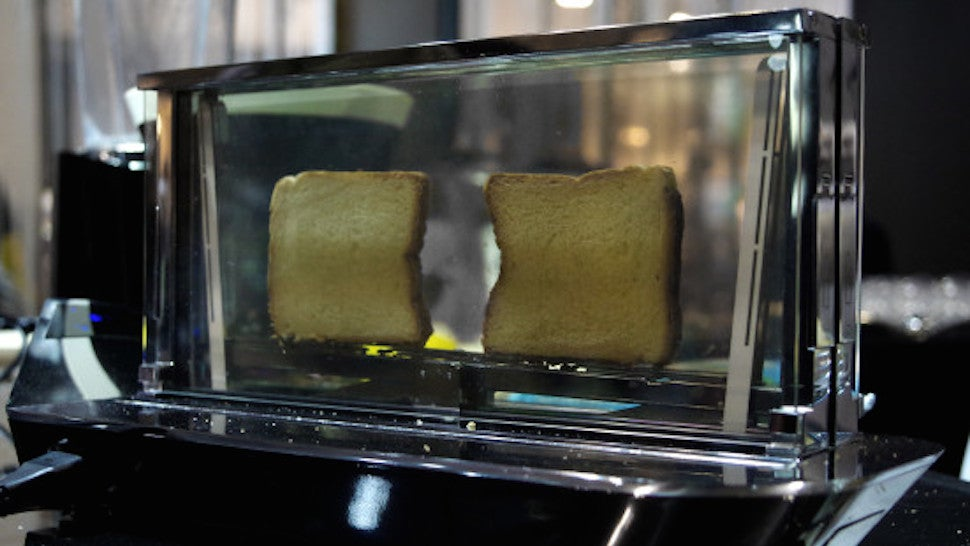 This Glass Toaster Costs $US1,000 -- But It Can Cook Steak