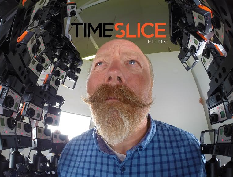 A Crazy Rig of 53 GoPro Cameras Filmed a '4D' Video of This Dude's Head
