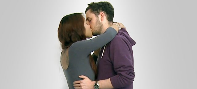 Watching Real Strangers Kiss For The First Time Is Not Pretty