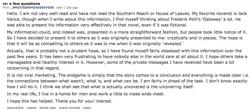 The Sci-Fi Novel Secretly Unfolding in Reddit's Comments
