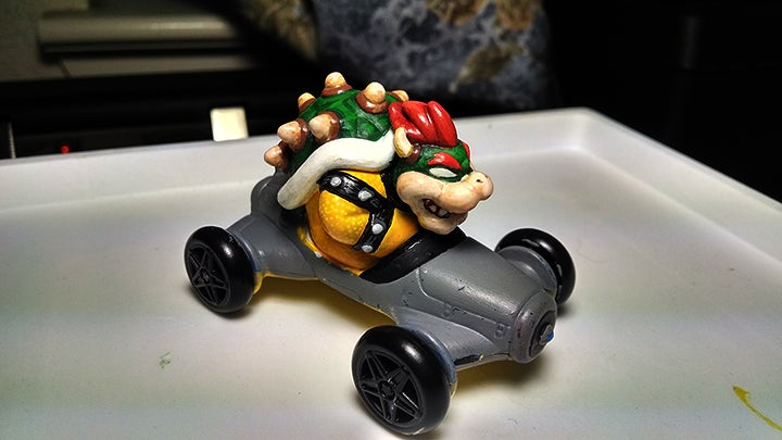 McDonald's Happy Meal Customer Gives Bowser A New Paint Job