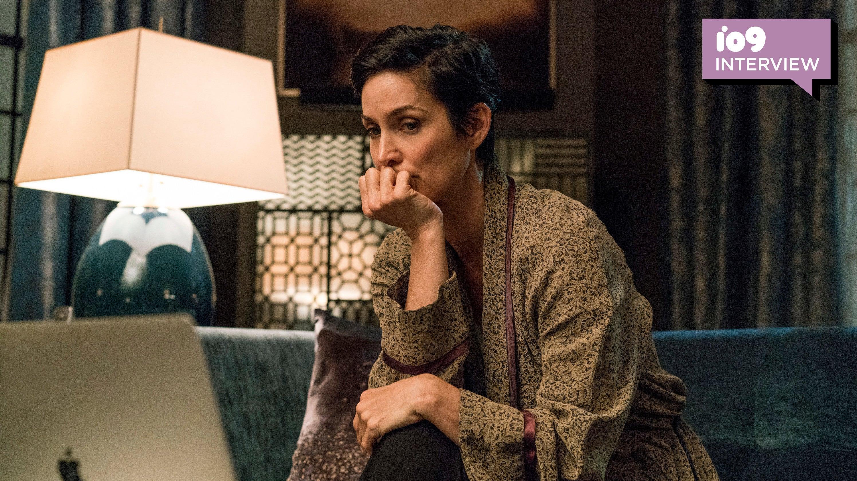 Jessica Jones' Carrie-Anne Moss Discusses The Dangerous, Yet Vulnerable, Jeri Hogarth