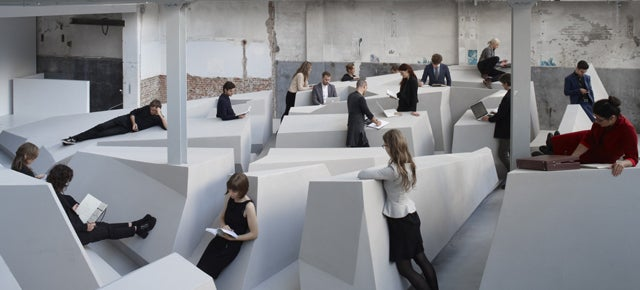 There Is Now An Office Where You're Forbidden From Sitting