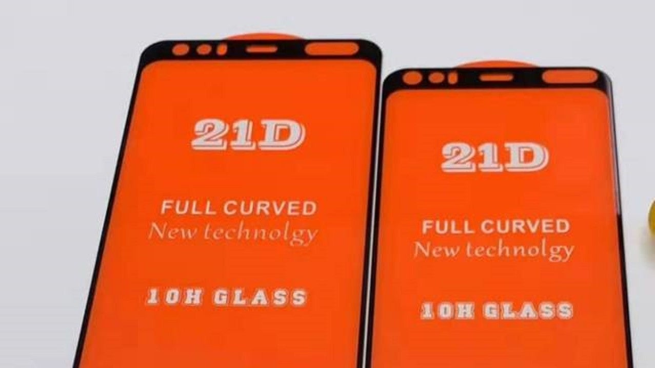 Google Pixel 4 Leaks Purport To Show Huge Front Bezel, Cutout For Mystery Component