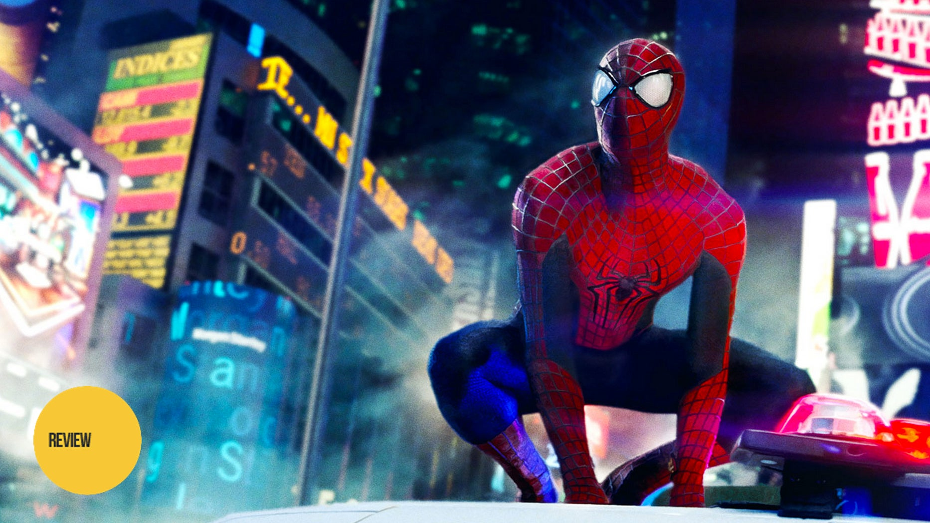 the amazing spiderman review The spider-man of the comic books was sassy during fights, spouting off insults and egging his opponents on the amazing spider-man nailed the character perfectly emma stone plays gwen stacy, a science wiz intern at oscorp, and peter's love interest.