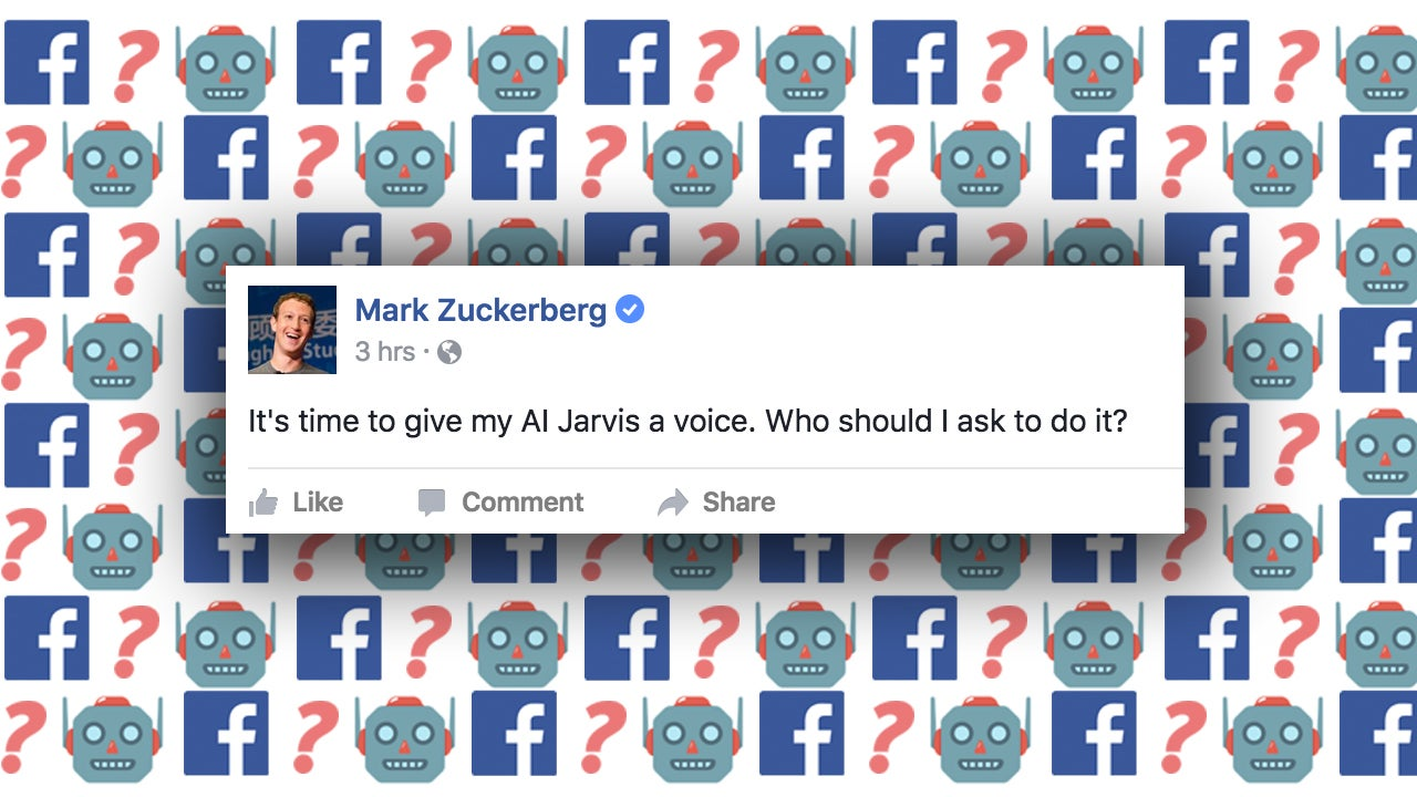 Mark Zuckerberg Needs Help With The Voice Of His Personal Home Assistant