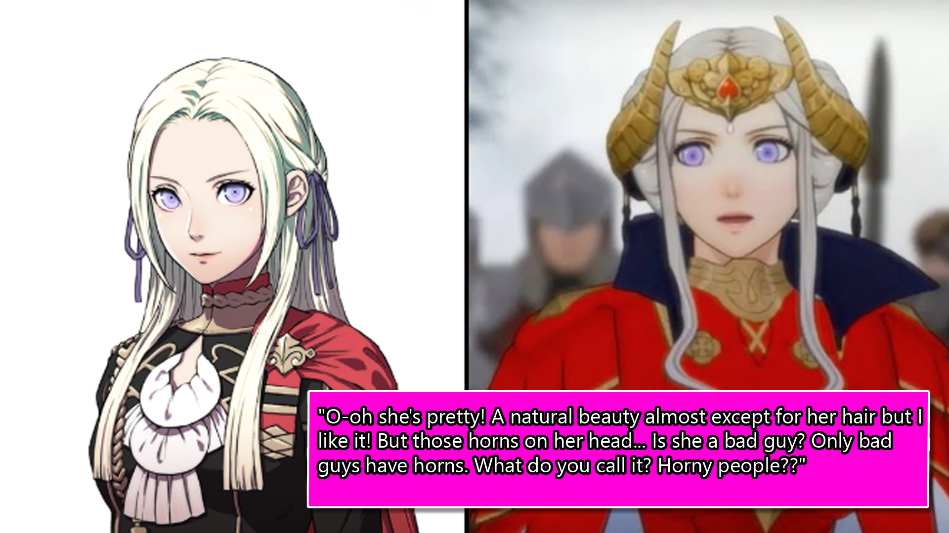 A Mum Rates All The Characters In Fire Emblem: Three Houses Based On Their Looks