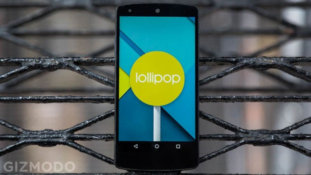 Lollipop Is On Its Way To Nexus Devices