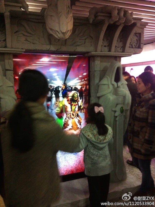 Subway Station Gets an Actual Warlords of Draenor Dark Portal