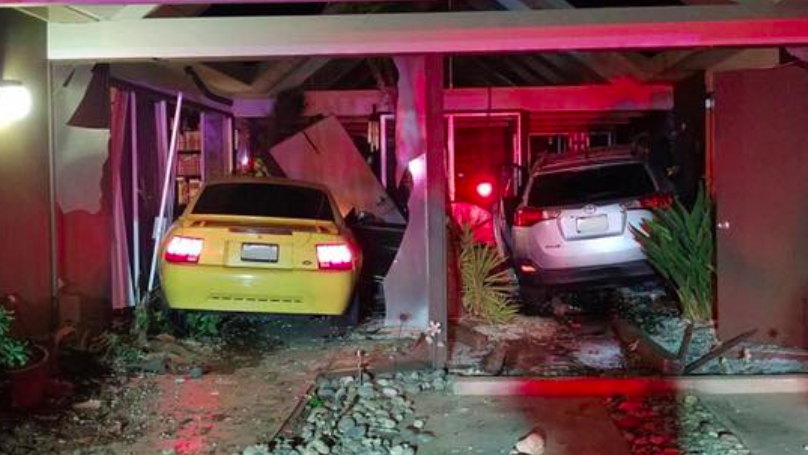 The Absurd Story Of How Some Genius Crashed Into The Same Home Three Times With Two Different Cars
