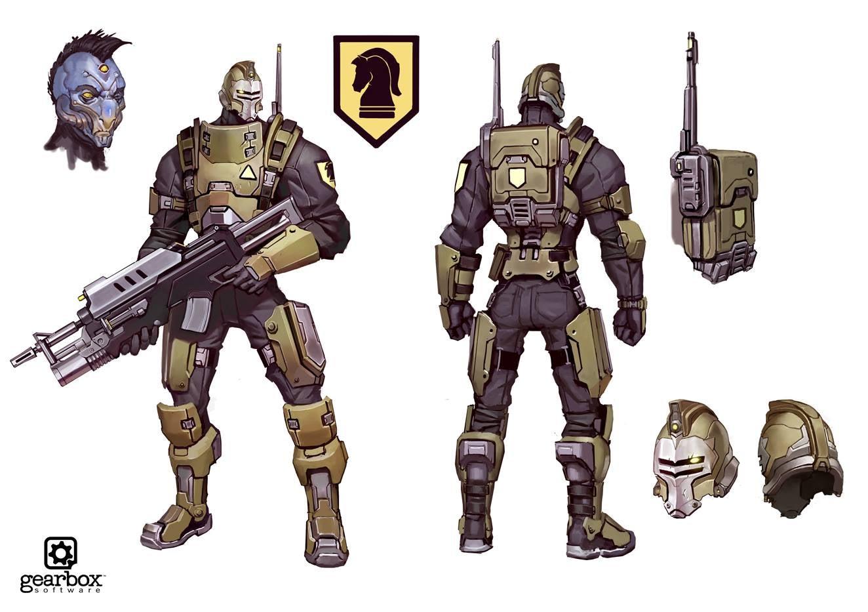 The Weird Units Of Battleborn