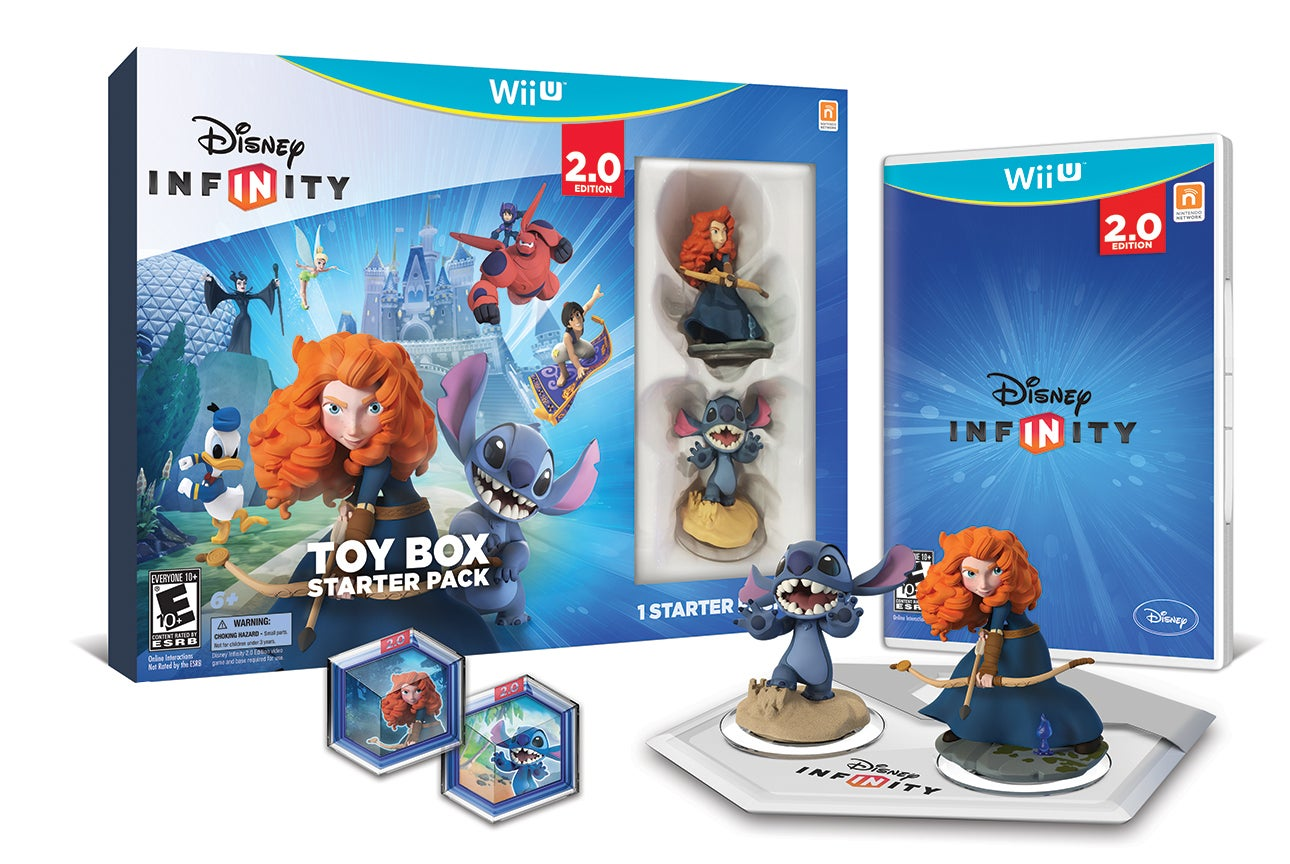 Stich And Merida Star In The Other Way To Buy Disney Infinity 2.0