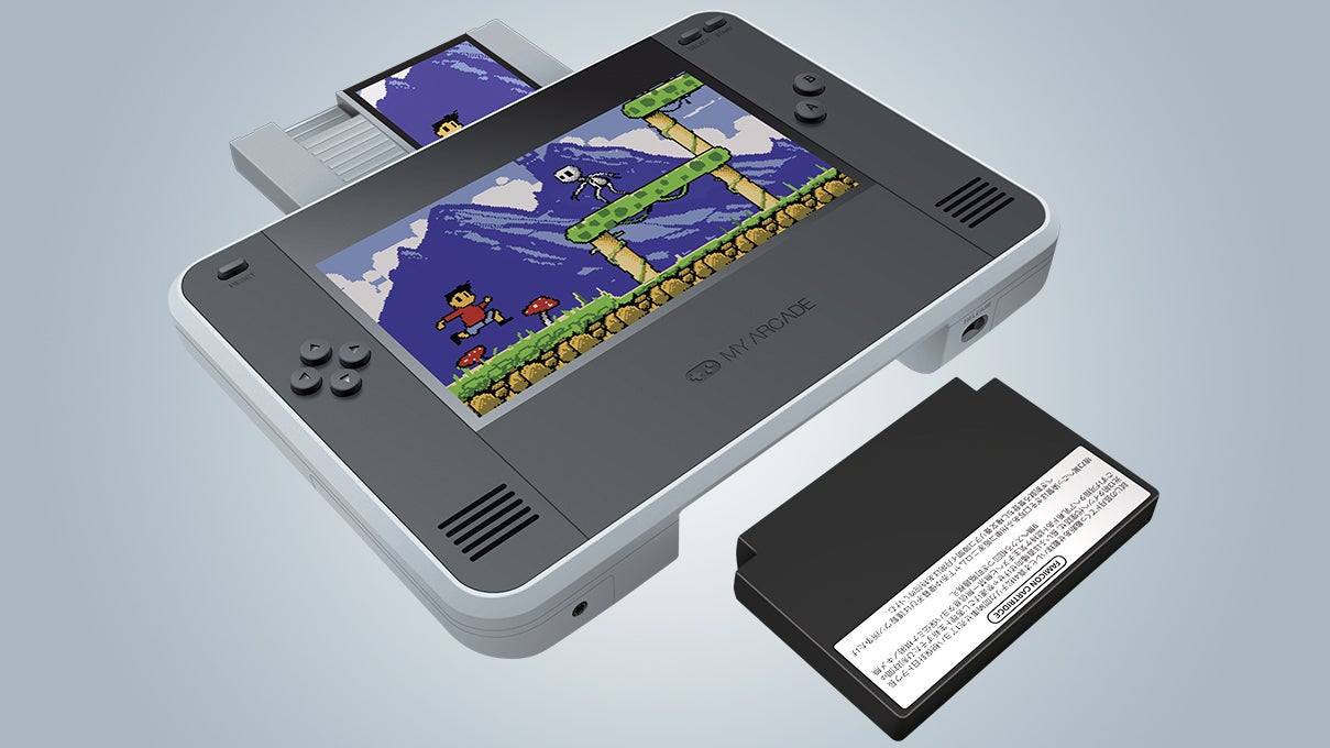 The RetroChamp Turns The Original NES Into A Nintendo Switch-Inspired All-In-One Handheld