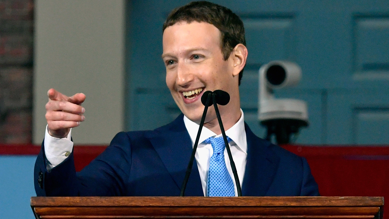 Mark Zuckerberg's Personal Challenge For 2018 Is Doing His Job