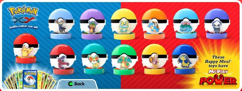 The Next McDonald's Happy Meals Have Pokémon Inside