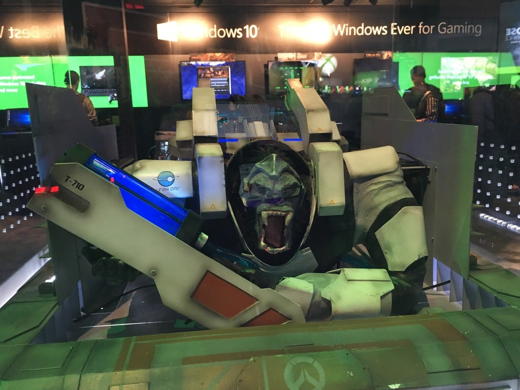 Overwatch's Winston, As A Gorilla-Sized PC Case