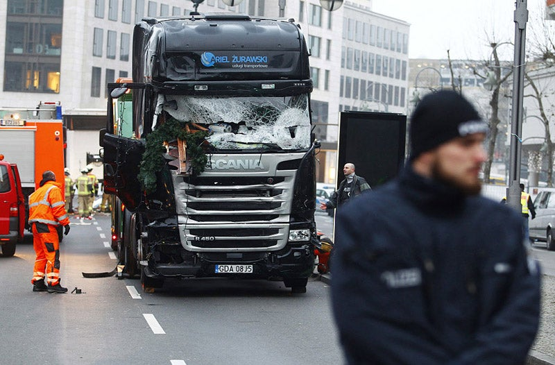 Autonomous Brakes May Have Stopped Berlin Truck Attacker From Killing More
