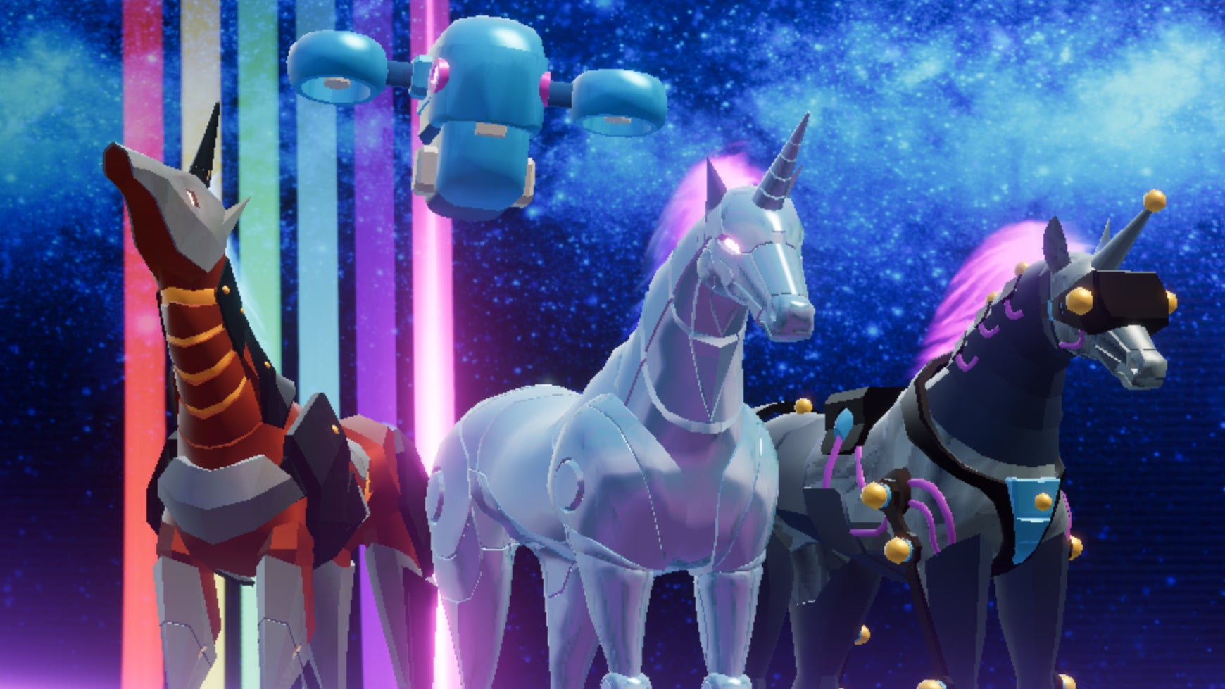 Robot Unicorn Attack Isn't Screwing Around This Time