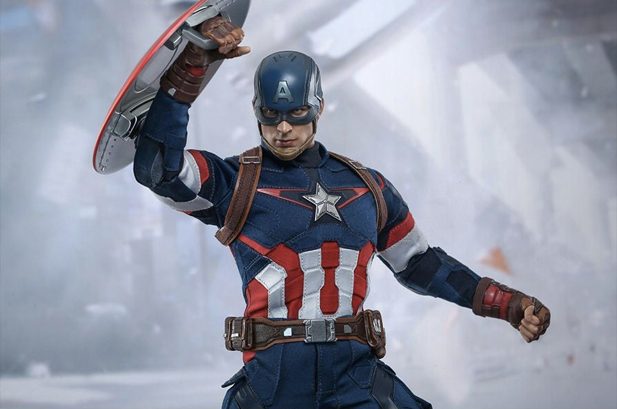 This Chris Evans Captain America Figure Could Not Be More Perfect