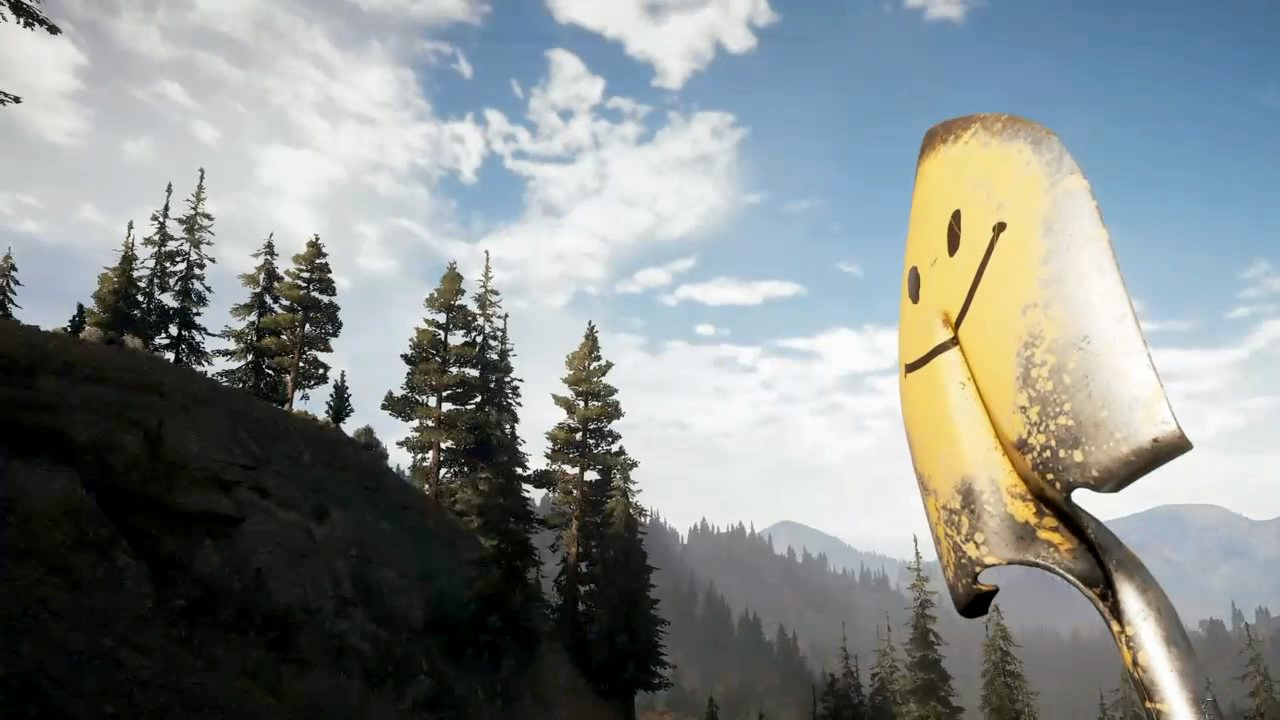 Players Are Obsessed With Far Cry 5's Shovels