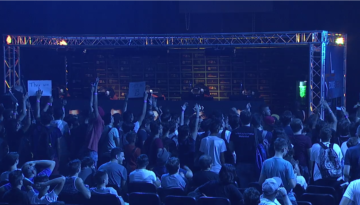 Crowd Shouts, Throws Things At Counter-Strike Tournament