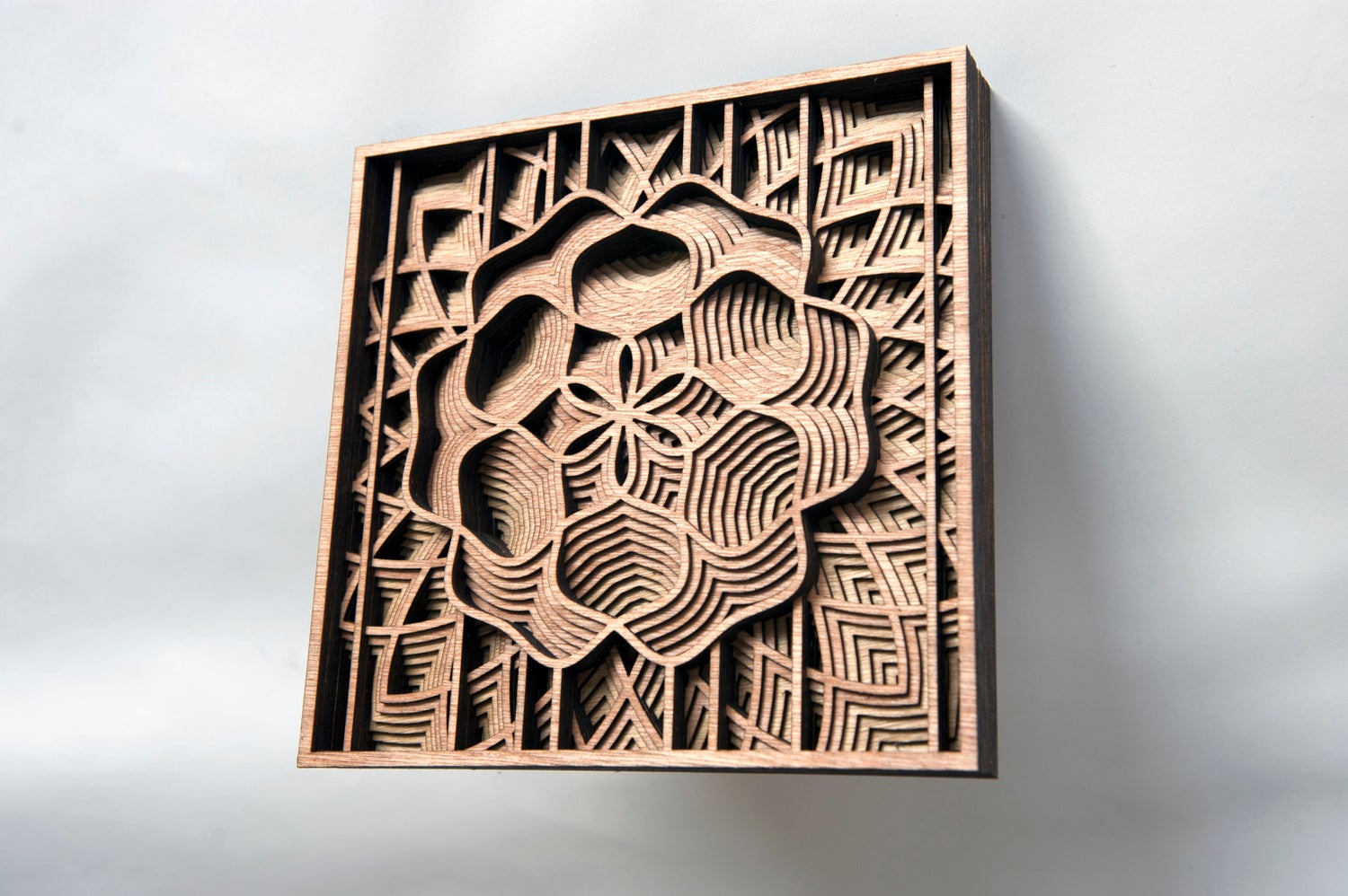 Artist Creates Stunning Wooden Sculptures With Laser Cutting Tech