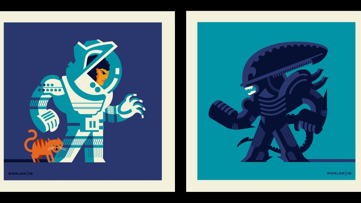 Heroes And Villains Go Head To Head In This Action-Packed Pop Culture Art Show