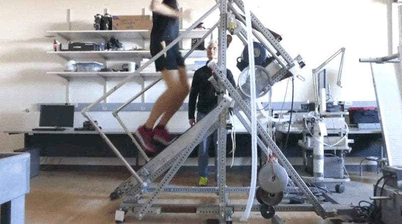 This 45-Degree Treadmill Just Revealed Something Fascinating About Running Extreme Inclines