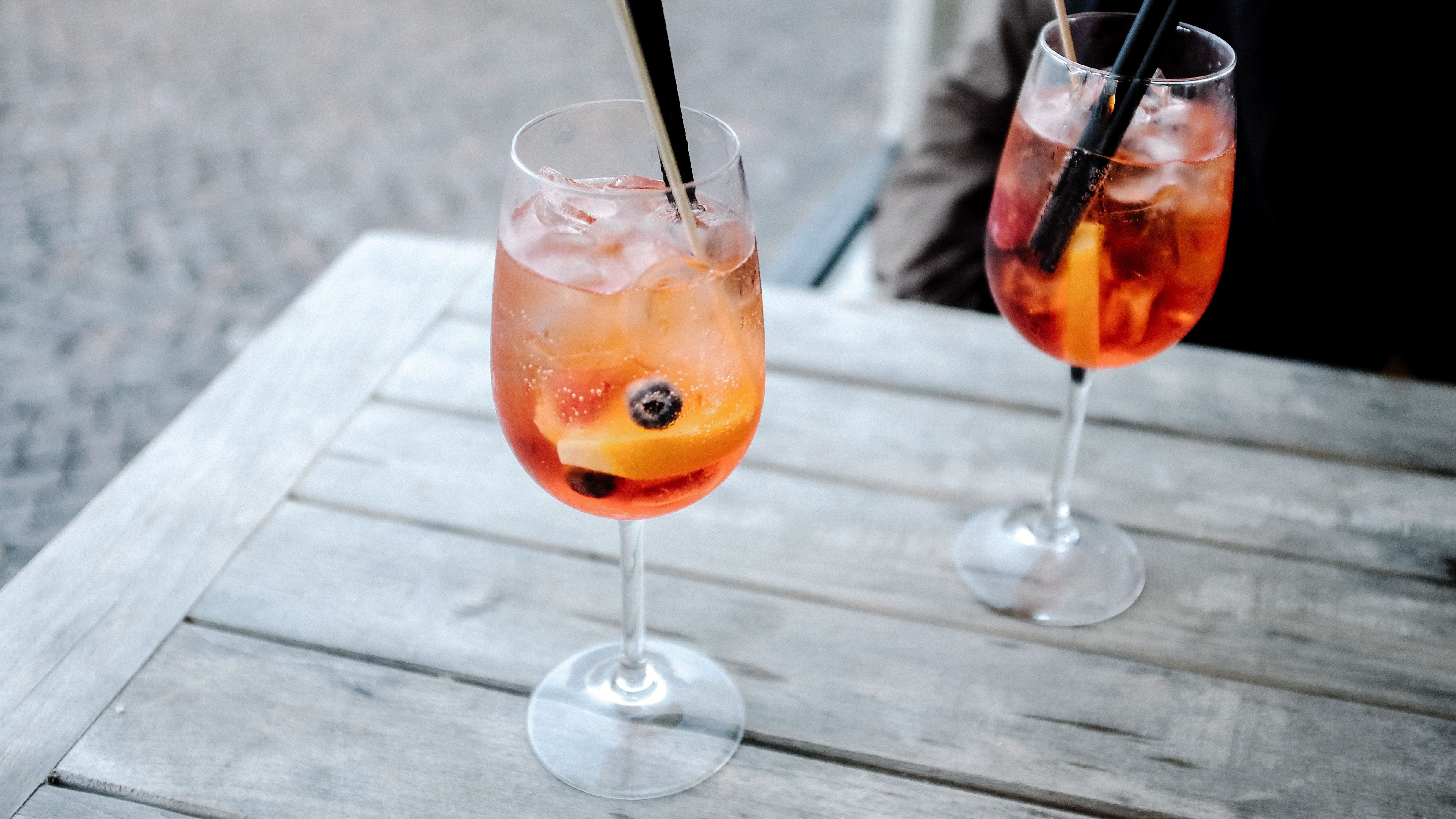 The Aperol Spritz Is Like A Grown Up Orange Soft Drink
