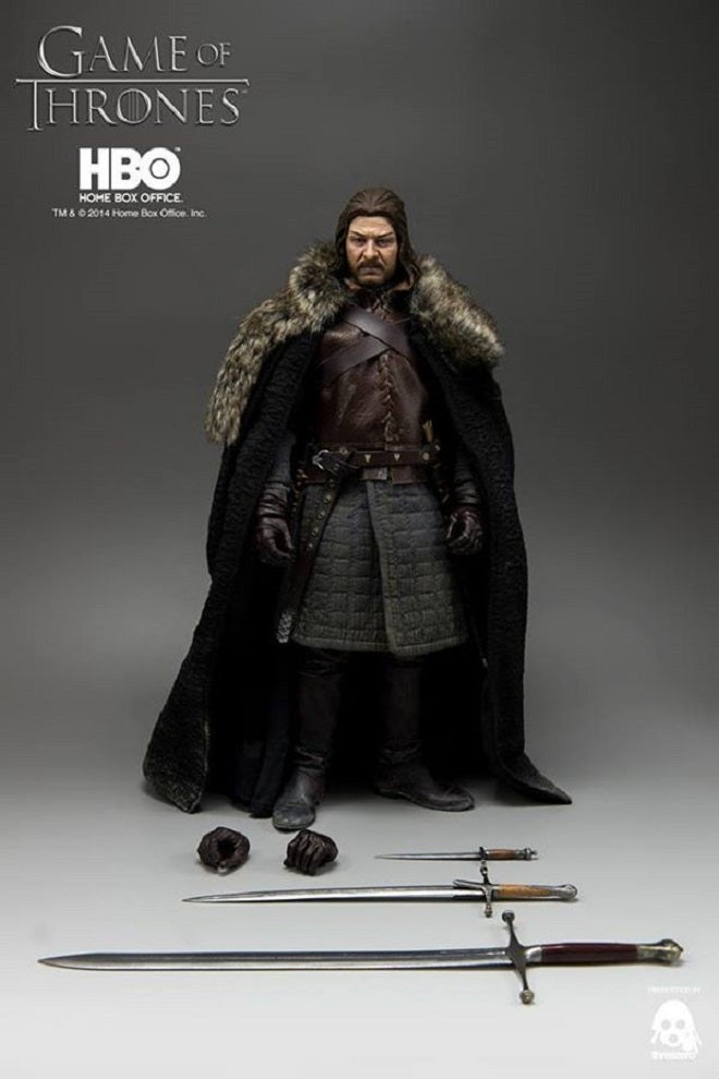 Here's A Better Look At The New Deluxe Eddard Stark Figure