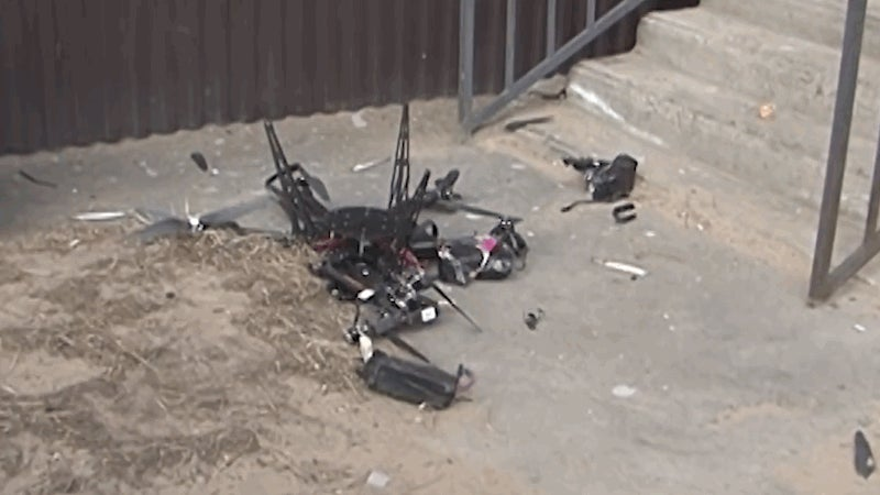 Russian Postal Delivery Drone, Like All Of Us, Crumbled To Pieces On First Attempt