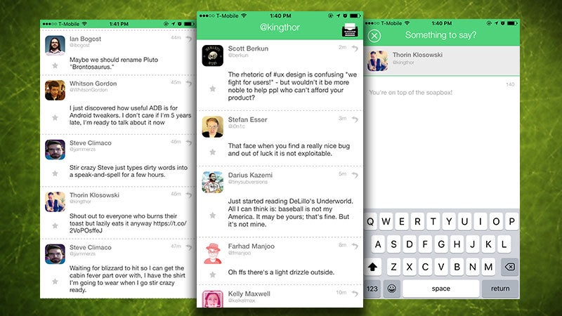 Little-Voices Filters Images, Links, And Replies Out Of Twitter