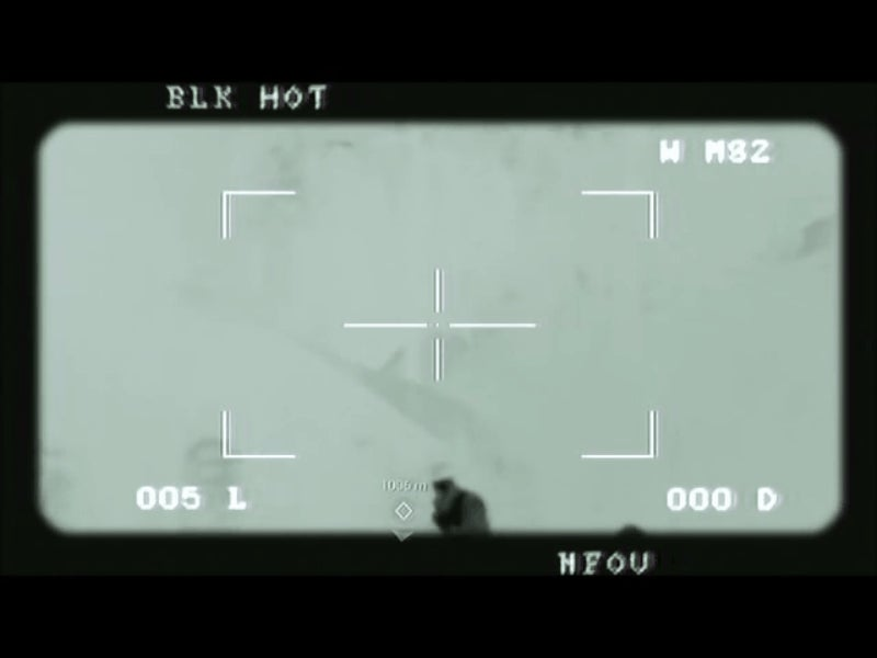 Amazing Footage of a Sniper Killing ISIS Fighters Turns Out to Be a Video Game