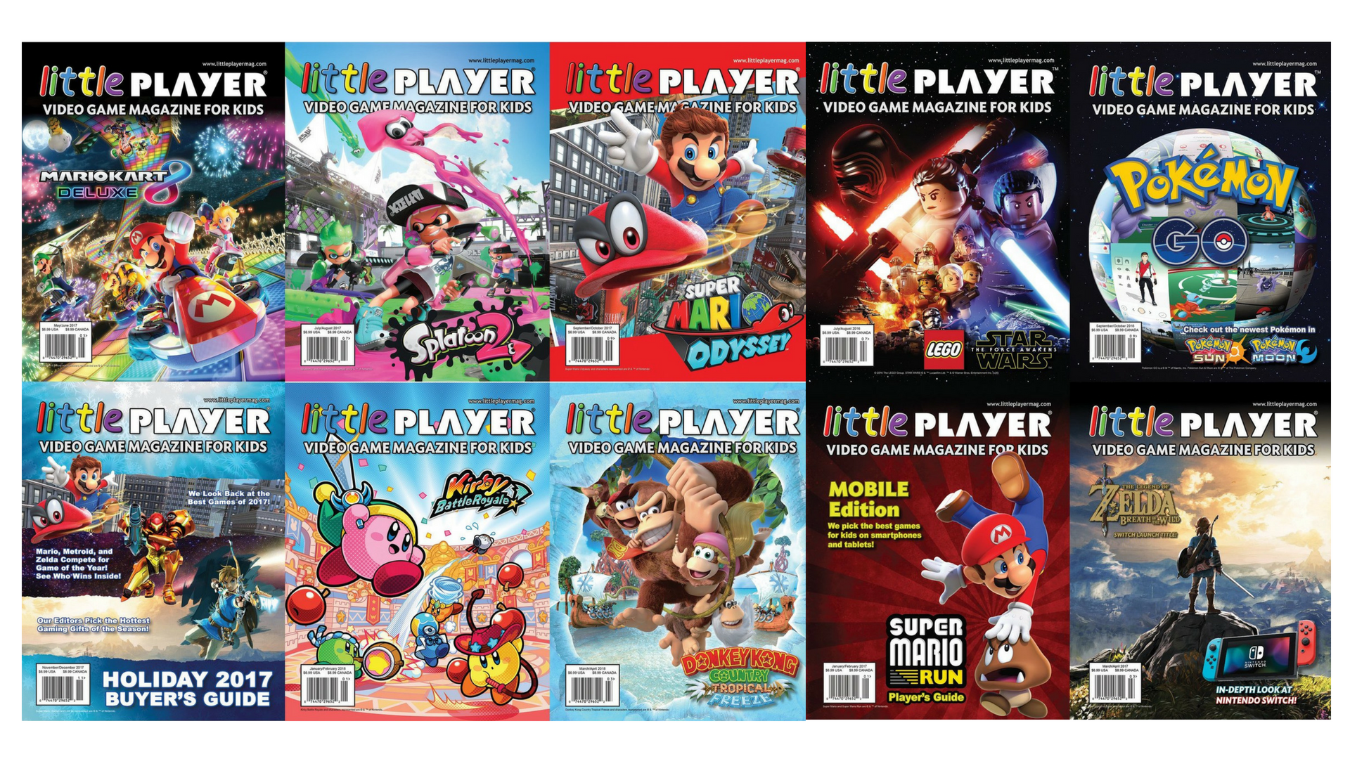 Get Your Gamer Kid 12 Free Digital Issues Of Little Player Magazine
